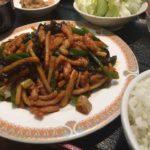 オススメ中華料理、魚香肉絲(鱼香肉丝,ユーシャンロース)