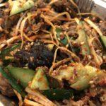 中華料理のおすすめ拌菜、牛肉拌黄瓜