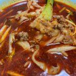 山西省発祥の麺料理、刀削麺(刀削面,トウショウメン)